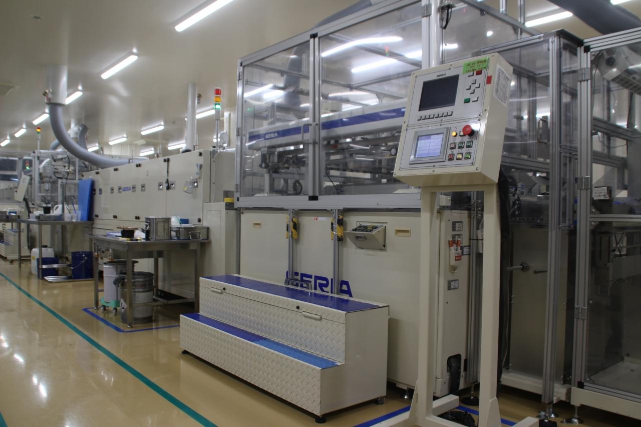 ロールスクリーン印刷機